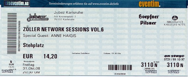 Ticket Zöller Networksessions VI