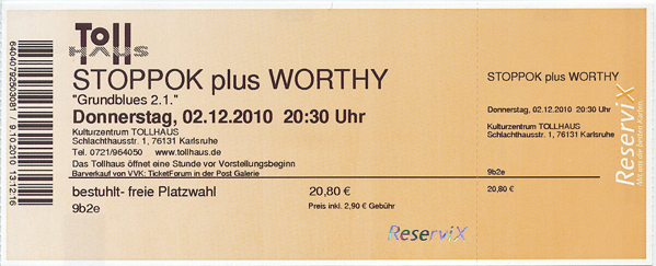 Ticket Stoppok & Worthy