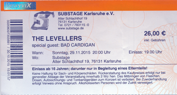 Ticket Levellers