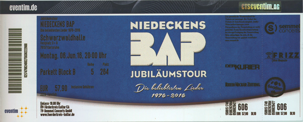 BAP Ticket