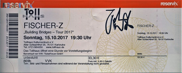 Fischer-Z Ticket