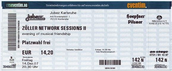 Ticket Zöller live