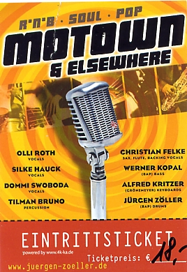 Ticket Motown & Elsewhere